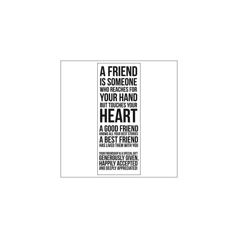 Kaisercraft Clear Stamp Best Friends