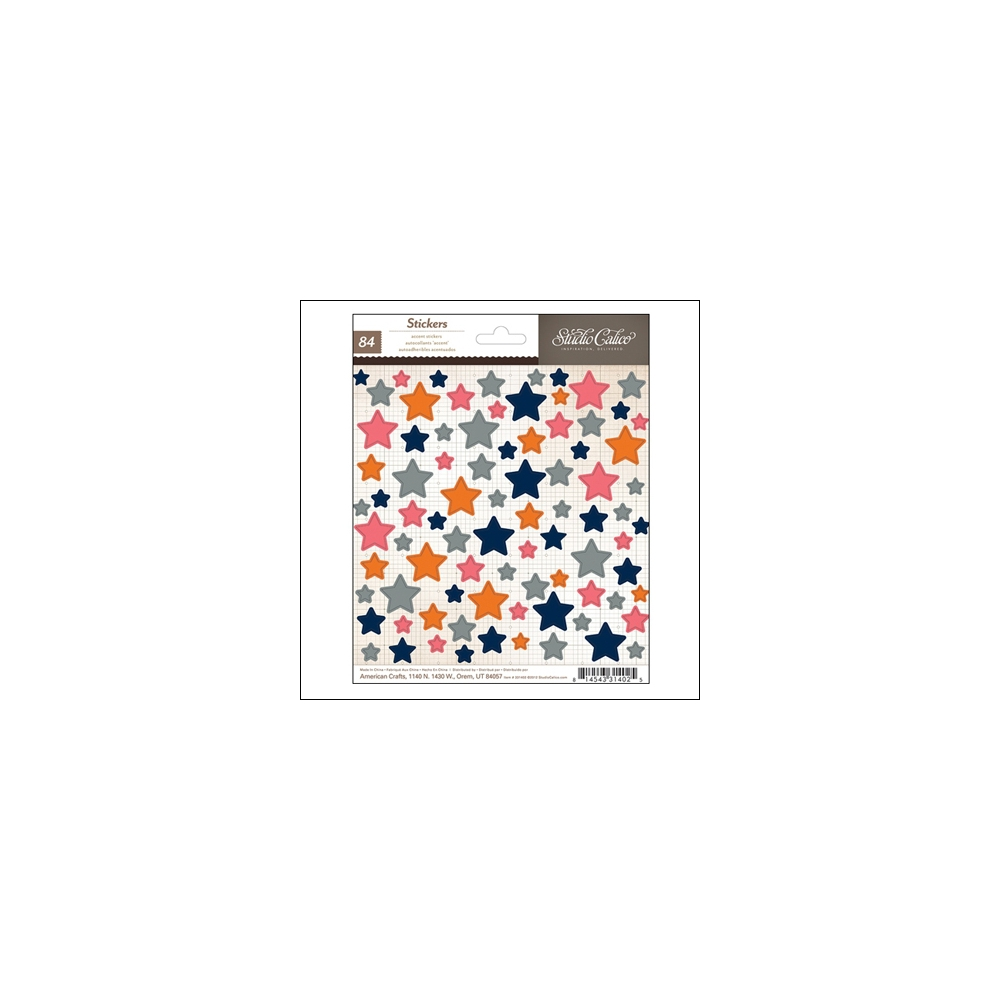 Studio Calico Sticker Sheet Atlantic Collection