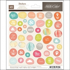Studio Calico Accent Stickers Sundrifter Collection