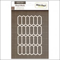 Studio Calico Mister Hueys Mask Elongated Hexagons Yearbook Collection