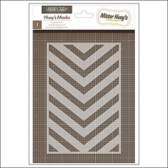 Studio Calico Mister Hueys Mask V Pattern Here and There Collection