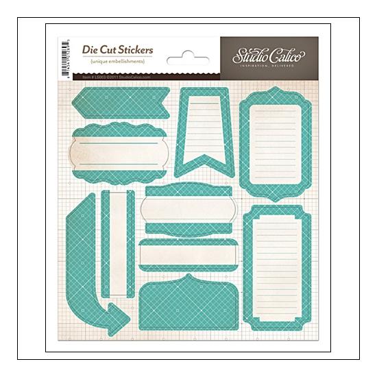Studio Calico Label Sticker...