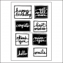 Technique Tuesday Clear Stamps All Occasions by Ali Edwards