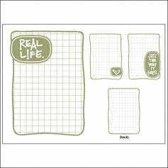 Technique Tuesday Story Cards Real Life Green by Ali Edwards