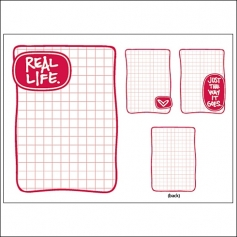 Technique Tuesday Story Cards Real Life Red by Ali Edwards