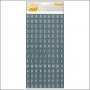 American Crafts Thicker Stickers Chipboard Tiles Weekender Ready Set Go Collection