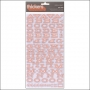 American Crafts Thicker Stickers Chipboard Fellow Pink Peachy Keen Collection