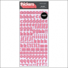 American Crafts Thicker Stickers Fabric Delight Watermelon