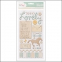 American Crafts Thicker Stickers Trinket Neutrals Lucky Charm Collection by Dear Lizzy