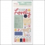 American Crafts Thicker Stickers Trinket Multi Lucky Charm Collection by Dear Lizzy