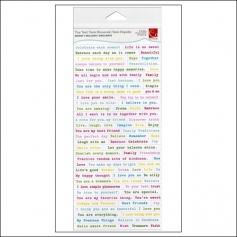 Cosmo Cricket Tiny Text Bright