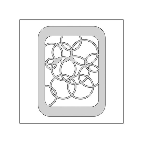 The Crafters Workshop Metal Die 3x4 Circles