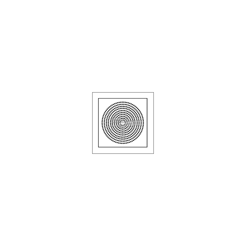 The Crafters Workshop Mini Template 6x6 Squircle