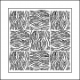 The Crafters Workshop Mini Template 6x6 Wood Parquet by Balzer Designs