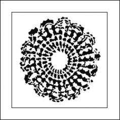 The Crafters Workshop Mini Template 6x6 Grandmas Doily