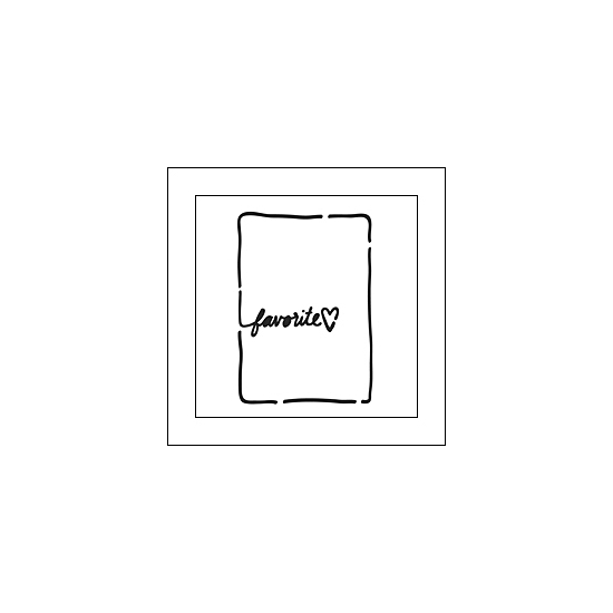 The Crafters Workshop Mini Template Life Bits 3x4 Favorite by Jen Boumis
