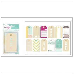 American Crafts Large Tags 5th and Frolic Collection by Dear Lizzy