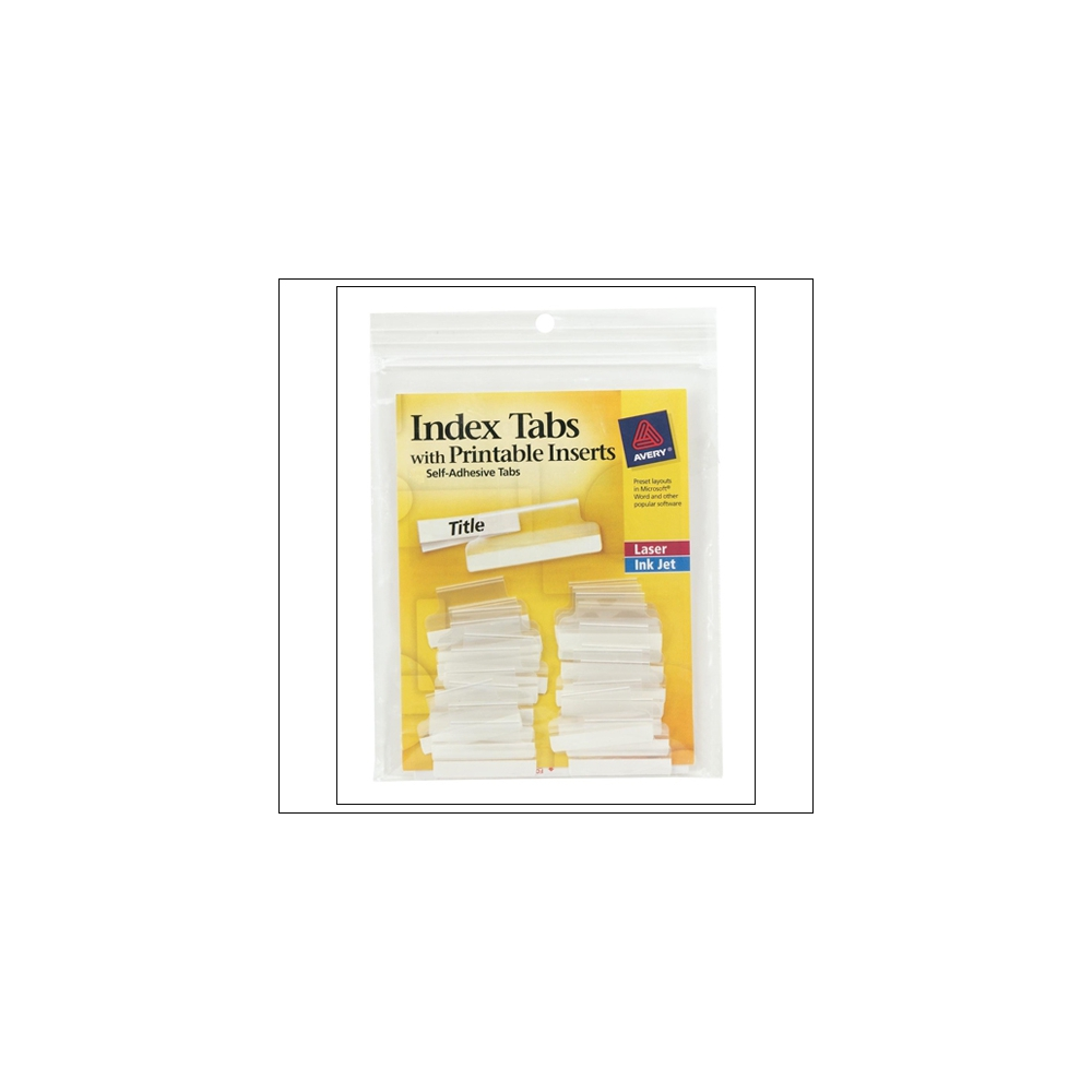 Avery Index Tabs 1 inch
