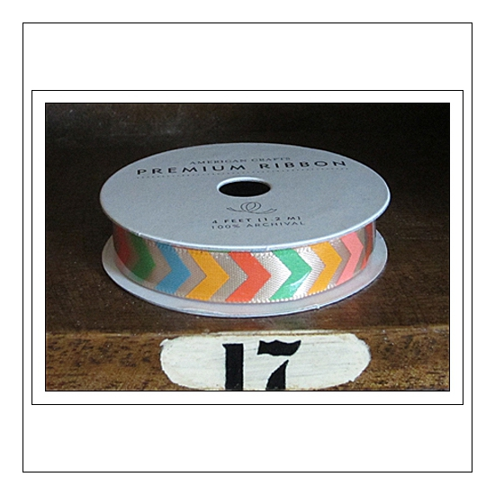 American Crafts Premium Ribbon Spool Ready Set Go Collection by Amy Tangerine