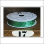 American Crafts Premium Ribbon Spool Extra Fine Glitter Green Kringle and Co Collection