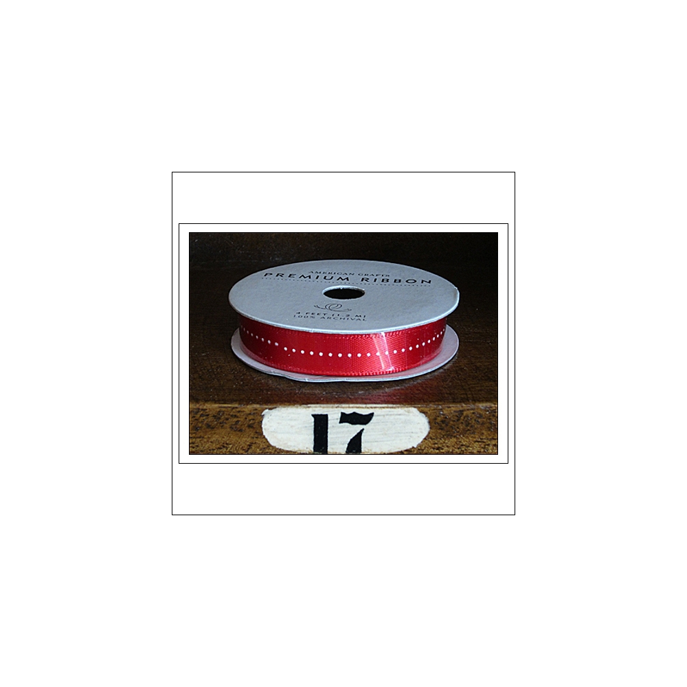 American Crafts Premium Ribbon Spool Christmas