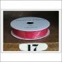 American Crafts Premium Ribbon Spool Jute Red