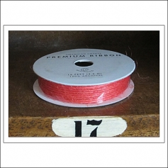 American Crafts Premium Ribbon Spool Jute Orange