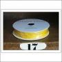 American Crafts Premium Ribbon Spool Jute Yellow