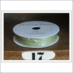 American Crafts Premium Ribbon Spool Jute Green