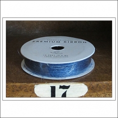 American Crafts Premium Ribbon Spool Jute Navy
