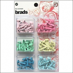 Basic Grey Brads Two Scoops Collection