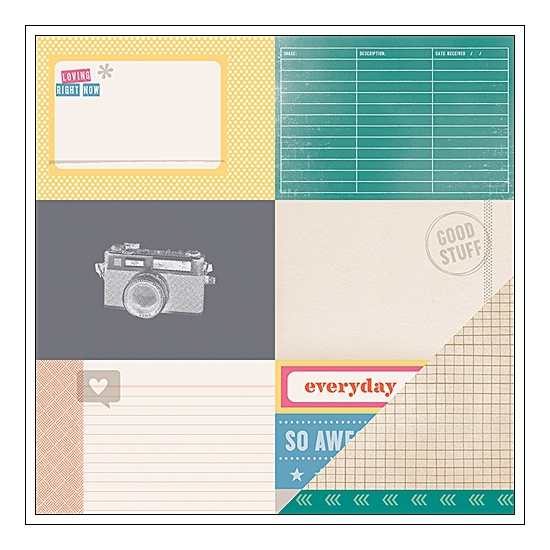 American Crafts Paper Sheet...