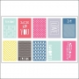 American Crafts Die Cut Cards Polka Dot Party by Dear Lizzy