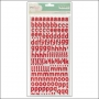 American Crafts Thicker Stickers Foam Cordial Pink Polka Dot Party by Dear Lizzy