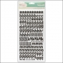 American Crafts Thicker Stickers Foam Cordial BlackPolka Dot Party by Dear Lizzy