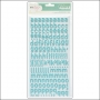 American Crafts Thicker Stickers Foam Cordial Blue Polka Dot Party by Dear Lizzy