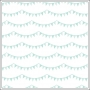 American Crafts Transparency Sheet Sassy Streamers Polka Dot Party Collection by Dear Lizzy