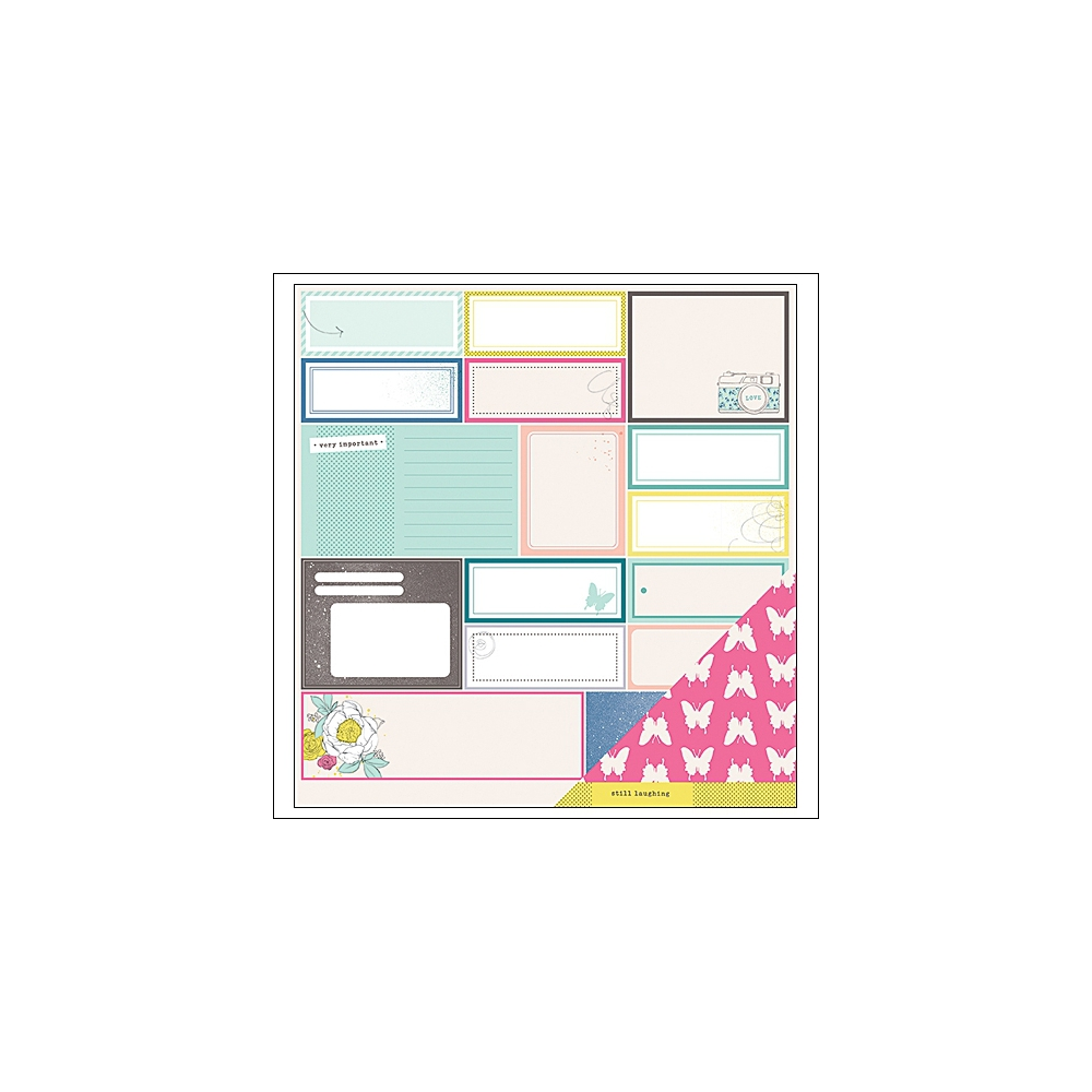 American Crafts Paper Sheet Fantastic Favors Polka Dot Party Collection by Dear Lizzy