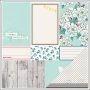 American Crafts Paper Sheet Warm Welcome Polka Dot Party Collection by Dear Lizzy