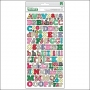 Crate Paper Thicker Stickers Chipboard Eric Multi On Trend Collection