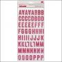 Studio Calico Thicker Stickers Printed Chipboard Fuschia Printshop Collection