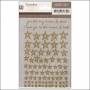 Studio Calico Gold Rub Ons Stars Printshop Collection