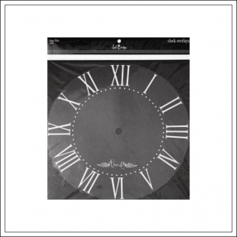 Heidi Swapp Clock Overlay Time Flies White