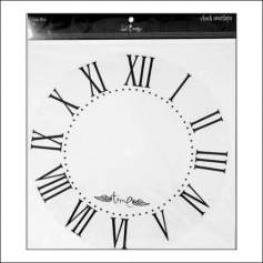 Heidi Swapp Clock Overlay Time Flies Jet