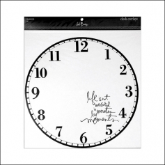 Heidi Swapp Clock Overlay Moments Jet