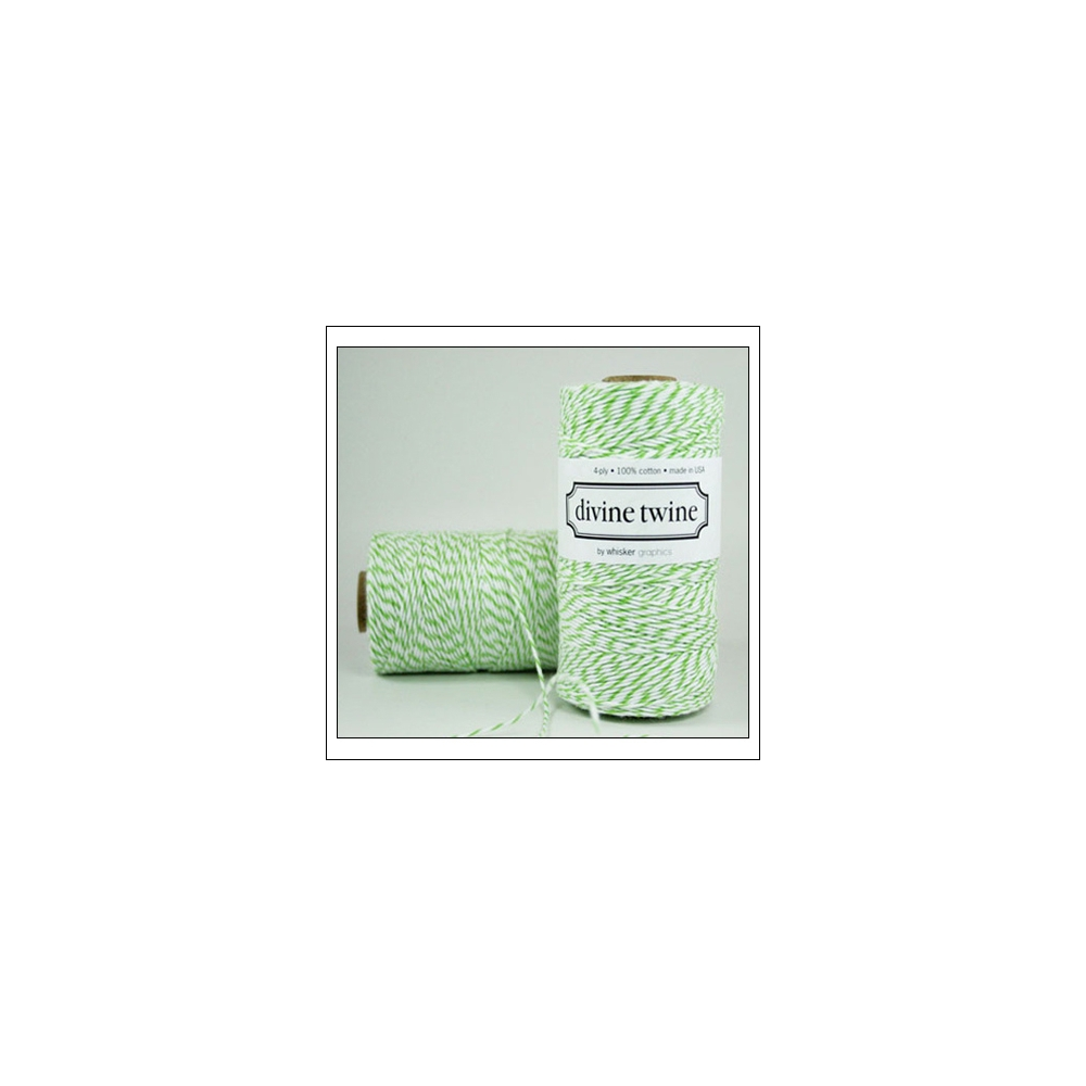 Whisker Graphics Divine Twine Green Apple