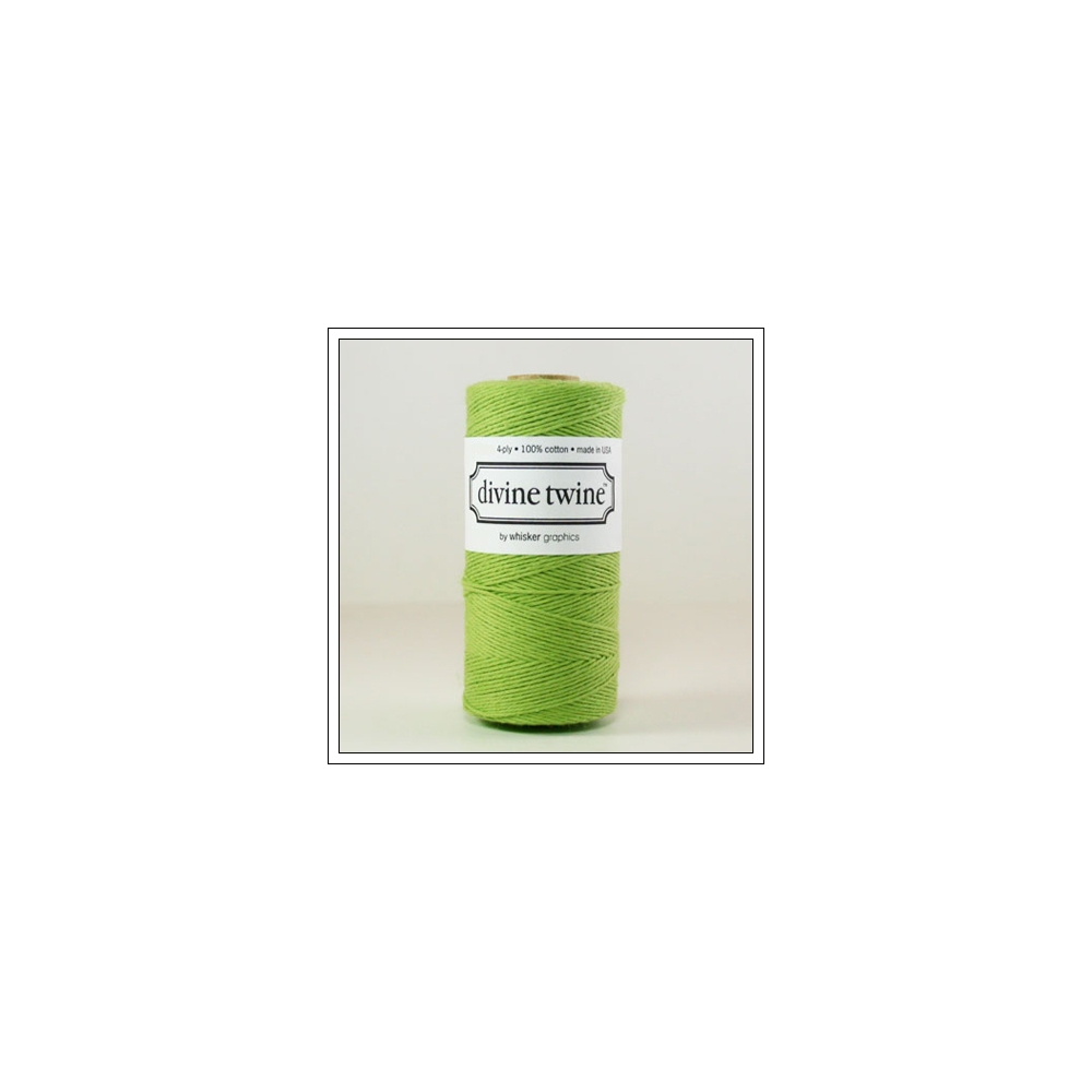 Whisker Graphics Divine Twine Solid Green