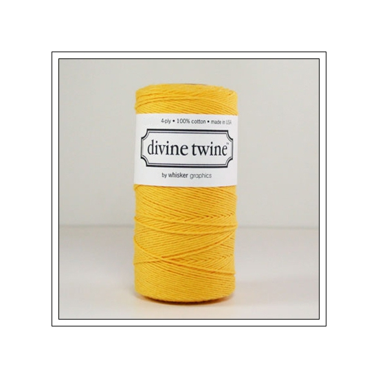 Whisker Graphics Divine Twine Solid Yellow