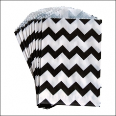 Whisker Graphics Little Bitty Bag Chevron Black
