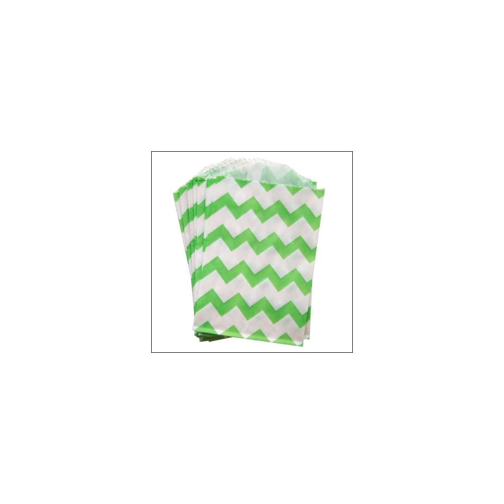 Whisker Graphics Little Bitty Bag Chevron Green